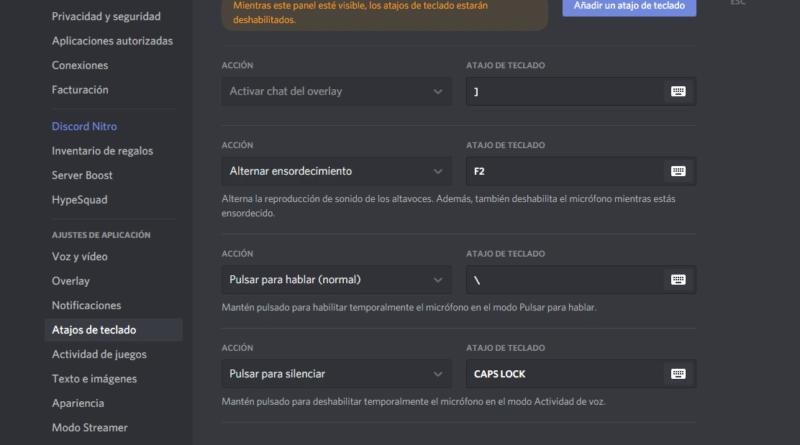 [Tutorial] Como mantener el chat de voz de discord limpio